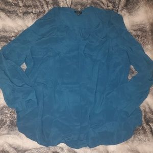 Turquoise blouse 16W